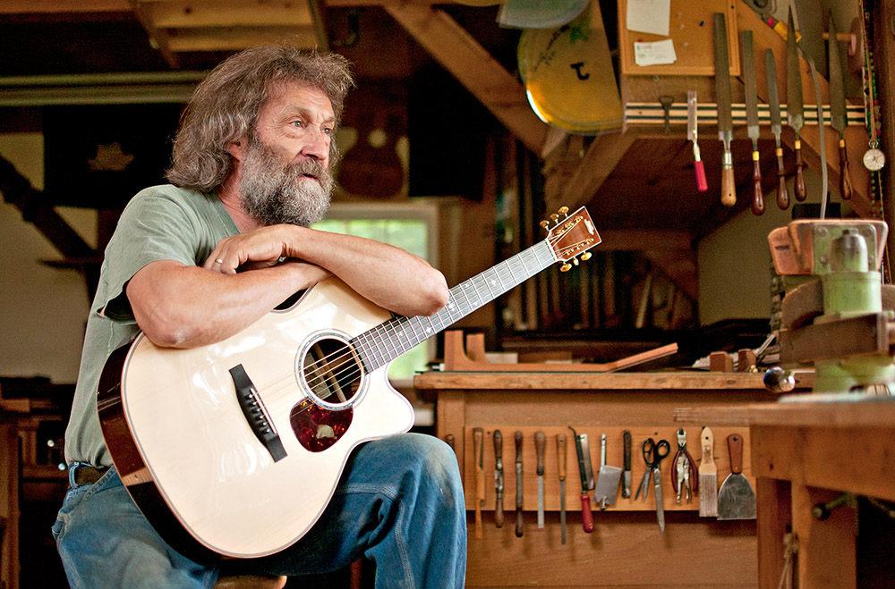 Forty Years Of Making Guitarsvery Good Guitars The Herald Of Randolph